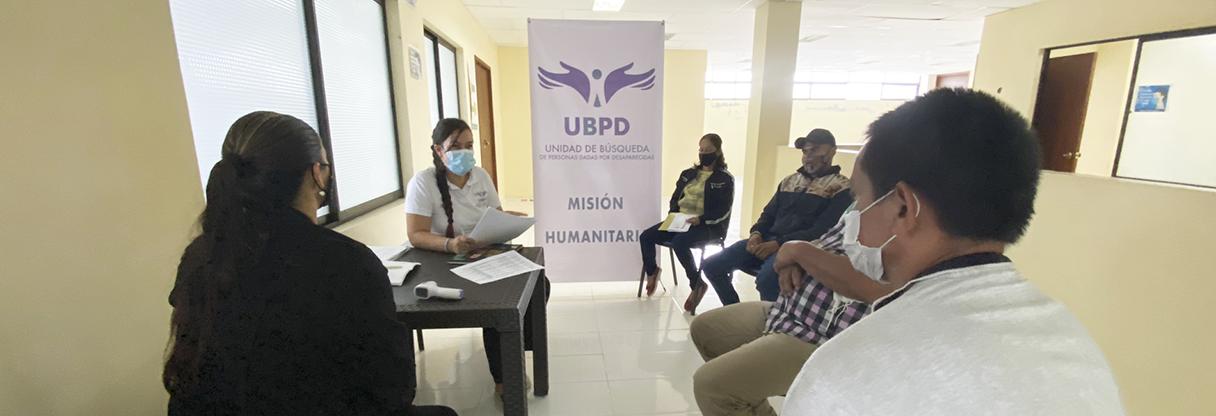 Unidad de Búsqueda inicia toma de muestras biológicas a 182 familiares de personas desaparecidas en el Magdalena caldense